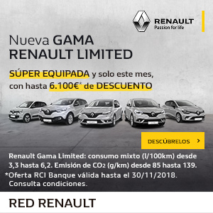 Renault Limited 10-14 nov18